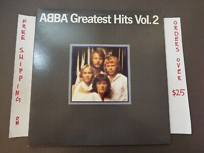 "ABBA GREATEST HITS VOL. 2 LP ""DANCING QUEEN"" SD 16009"
