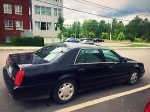 2002 Classic Black Cadillac Deville NorthStar Edition