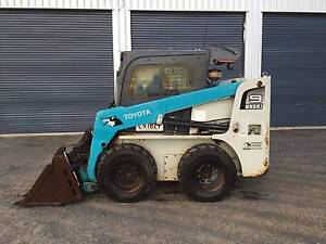 Toyota 5SDK9 Skid Steer Loader Wyreema Toowoomba Surrounds Preview