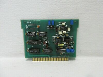 Unholtz-dickie U-d Corp 20242 Used Circuit Board Card 20242