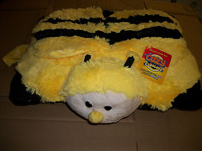 Bumble Bee Cozy Cuddler Pillow Pet Toy For Kids Children Nap Time As Seen On TV