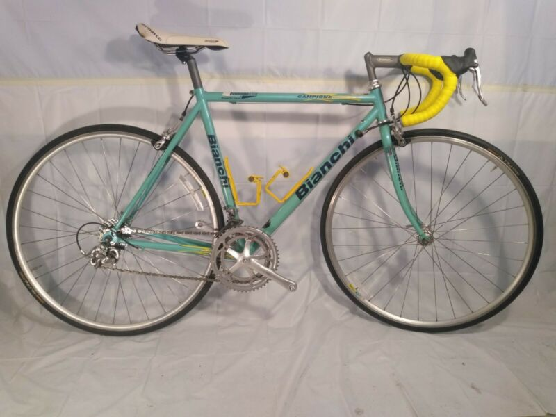 1999 Bianchi Campione Road Bicycle - Bike with Campagnolo Mirage Ergo Brifters