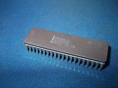 Qty-1 D8086-2 Intel Vintage 40-pin Cerdip D8086 Nos Last Ones Collectible