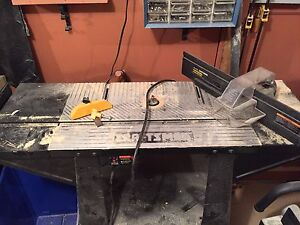 Craftsman router, table and attachments