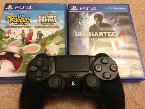 PS4 Controller + 2 games All for $75