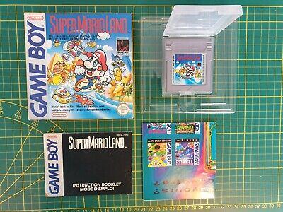 NEUF SUPER MARIO LAND Nintendo Gameboy Game boy Boxed boite OVP DMG-ML-FAH FRA