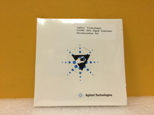Agilent  HP E4400-90501 E4438C, E4400,  Signal Generator Documentation CD.. New!