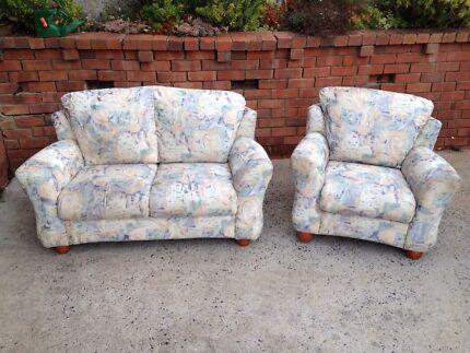 Lounge Suite (2 x 2 seaters + 2 x 1 seaters) Armidale 2350 Armidale City Preview