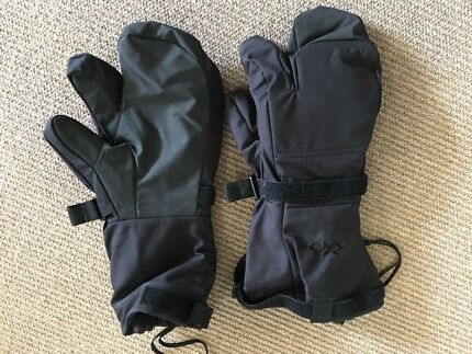 Outdoor Research Backcountry Mitts XL
