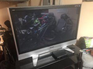 "55"" Panasonic flatscreen tv - HD big screen"