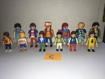 Playmobil set of 12 RANDOM KLICKIES 3 MEN 3 WOMEN 3 BOYS 3 GIRLS (LOT 6)  for sale  Powell