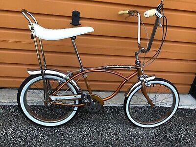 1965 SCHWINN DELUXE STINGRAY STURMEY ARCHER 3 SPEED BICYCLE BIKE NICE COPPERTONE