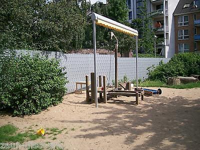 doppelstabmatte 22,5m 1230cm stahlgitterzaun gittermatten, Garten seite