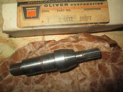 Oliver Tractor Super55550 Brand New Hydraulic Pump Shaft Nos