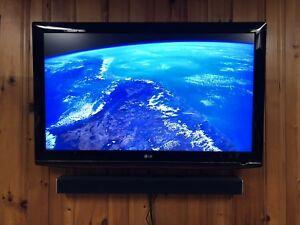 "LG 47"" 1080p TV"