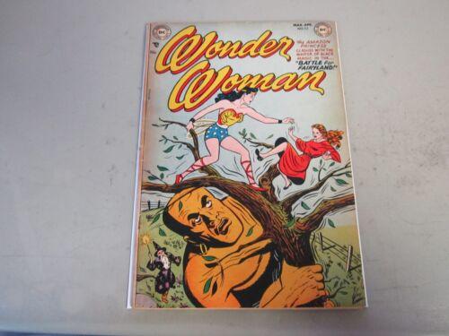 Wonder Woman #52 Comic Book 1952