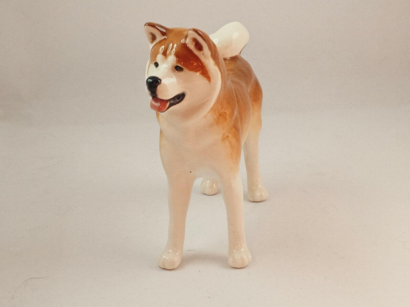 Japanese Akita inu Dog Russian Classic Porcelain ...