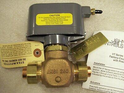 Johnson Controls Valve Diaphragm Actuator V-3802 Jci 12 Normally Open 9338 Xx