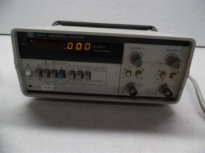 HP 5314A Unversal Counter