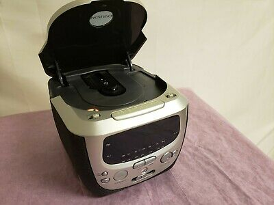 Magnavox Bedroom Alarm Clock Stereo Radio + CD Player
