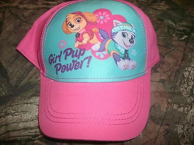 Girl Power Cap (New Girl Pup Power Youth Baseball Cap/Hat w/Snapback OSFM US Seller! (B127))