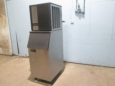 Ice-o-matic Commercial Hd 115v 1ph Air Cooled 320lbs Ice Maker Wstorage Bin