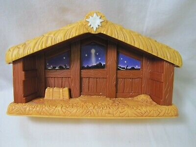Fisher Price Little People NATIVITY STABLE JESUS Bethlehem Scene Christmas