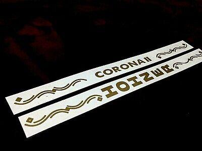 HOHNER PEGATINE LOGO CORONA II  LETRAS PEGATINAS HOHNER CORONA II