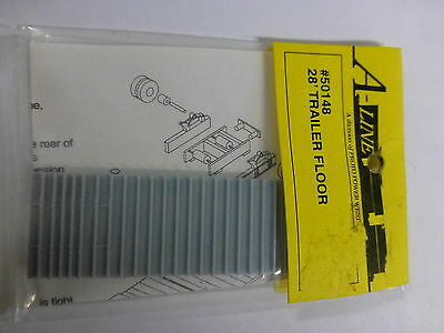 A-Line HO #50148 (28' Trailer Floor) Plastic Part (1:87th Scale)