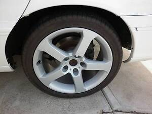 """vy 18"""" hsv r8 wheels and tyres, excellent condition  vs vt vx vu Adelaide CBD Adelaide City Preview"""
