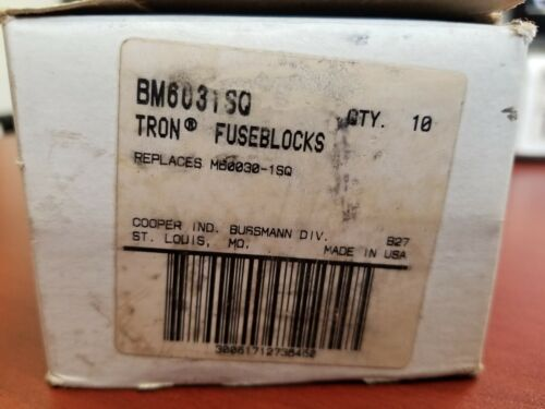 TRON FUSE BLOCKS BM6C31SQ