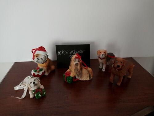 Labrador Golden Retriever Bulldog Beagle Shih tzu Yorkie Dog Christmas Ornaments