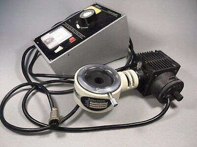 Nikon Optiphot 62704 89-3801 T-13580 Illuminator Light Source W Transformer