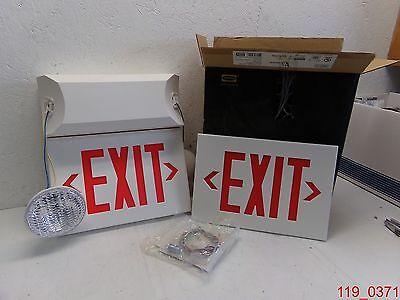 Dual-lite Emergency Exit Lighting Light Cvt3rw5 Nib