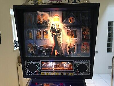 THE ADDAMS FAMILY PINBALL ARCADE MACHINE, FULLY WORKING, OUTSTANDING CONDITION