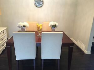 Palliser table with 6 chairs