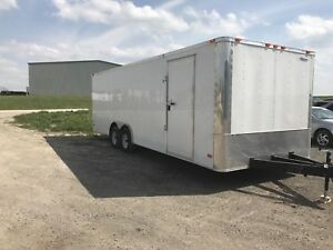 2017 freedom 8.5x24 ft enclosed trailer