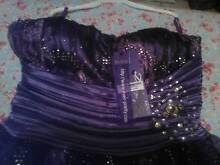 purple rose tulle dress evening bridesmaid formal Hoppers Crossing Wyndham Area Preview