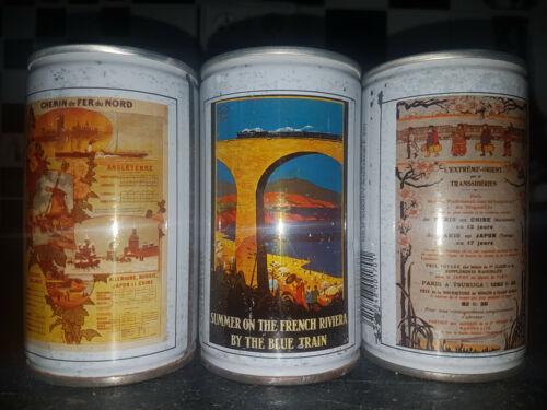 SKOL - SET OF 3 beer cans - Empty