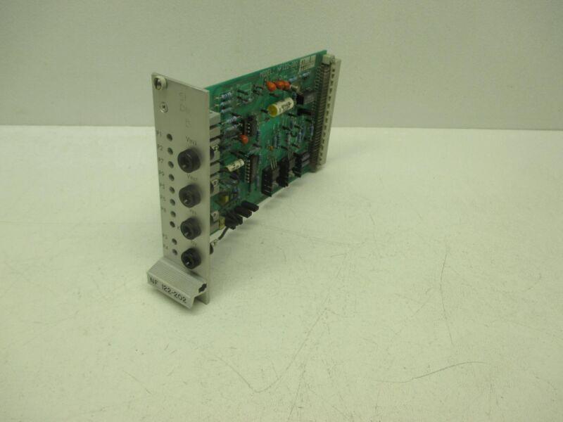 Moog NF122-202 A1 Servo Amplifier Board