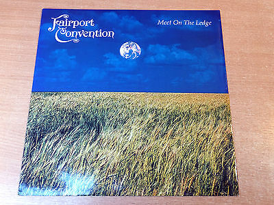 "EX/EX !! Fairport Convention/Meet On The Edge/1987 Island 12"" Single"