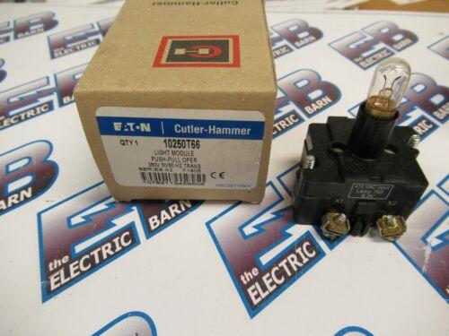 Cutler Hammer 10250T66, Series A2, Light Module, 380 Volt- NEW-B