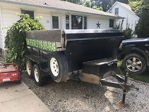 Dump trailer for sale