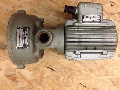 Kaiser Elektromotor mit Siemens und Hinsch 220/380 V 50 Hz 0.25 PS 0.18 KW 2810