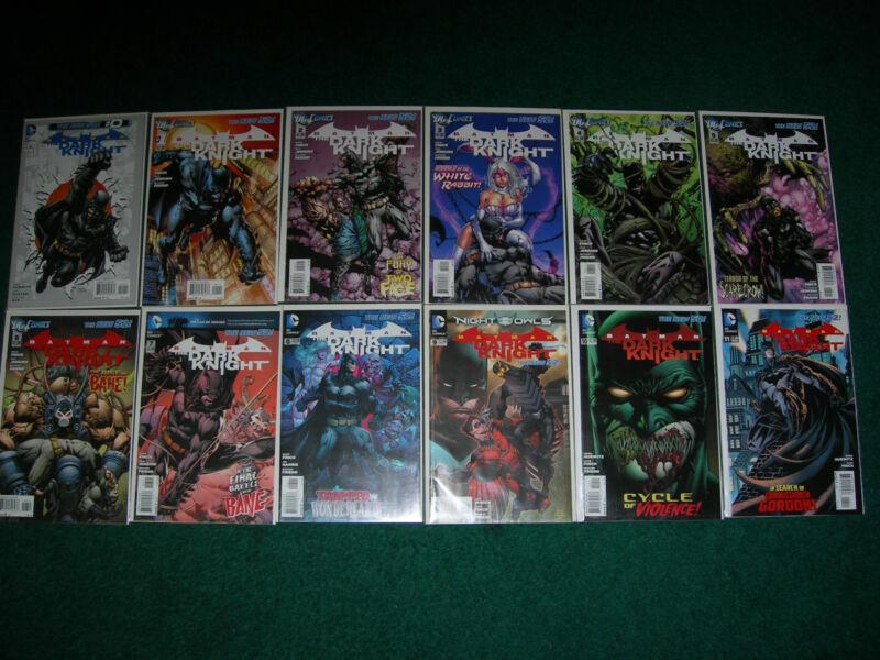 New 52 Batman: The Dark Knight 0, 1-29 with extras  (November 2011, DC)