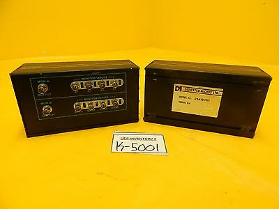 Dedicated Micros Mpc-4 Multiport Switch And Adp Printer Module Set Of 2 Used