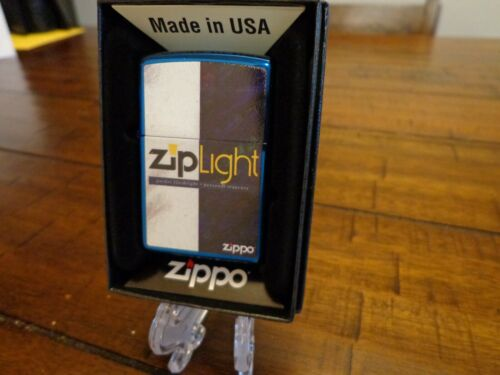 ZIPPO ZIPLIGHT BOX DESIGN ZIPPO LIGHTER MINT IN BOX