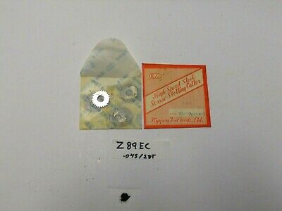 Z89ec 10pcs. E.c. Hss Metal Slitting Saw Blades 1x .045x 38-28t