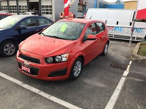 2012 Chevrolet Sonic LT LOW MILEAGE HATCHBACK WITH BLUETOOTH...