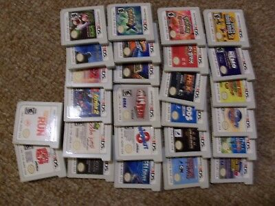 Nintendo 3DS Games You Pick Your Own Titles from the Lot Mario 2 Pokemon Luigi